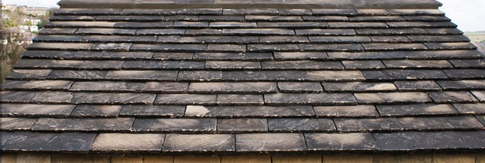 Natural Yorkshire stone roofing